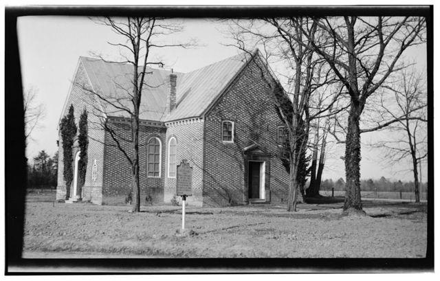 Vauter's Episcopal Church, U.S. Route 17, Loretto, Essex County, VA