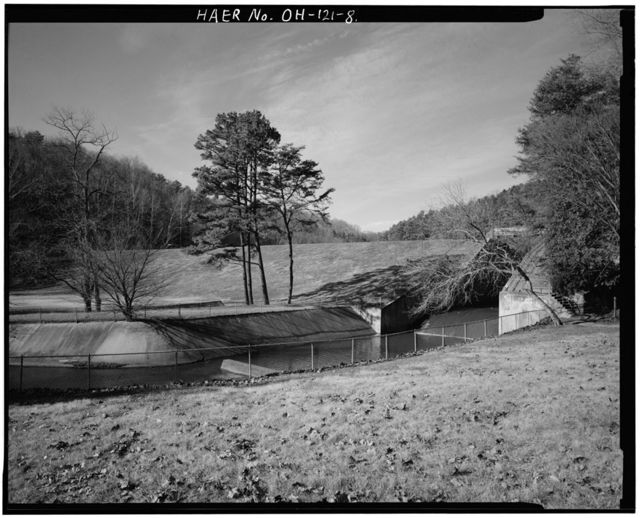 Vesuvius Dam, Across Storms Creek near intersection of County Roads 20 & 29, Ironton, Lawrence County, OH