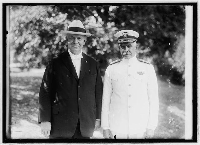 Vice Admiral Hilary P. Jones & Denby, 7/14/21