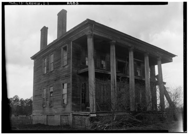 Vickers-Chapman-Gordon House, State Highway 69, Grove Hill, Clarke County, AL