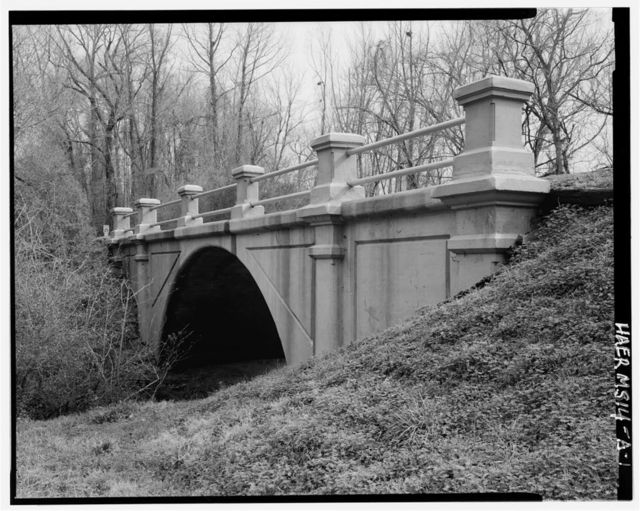 Vicksburg National Military Park Roads & Bridges, Melan Arch Bridges, Spanning various tributaries at Confederate Avenue, Vicksburg, Warren County, MS