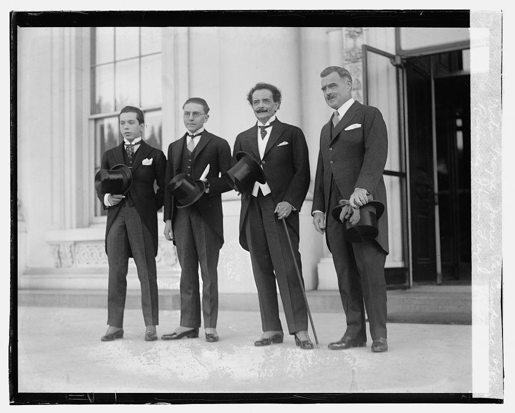 Victor Freyre, Javru Paz Camparo, Ricardo Jaimes Freyre, J.Butler Wright, 10/8/23