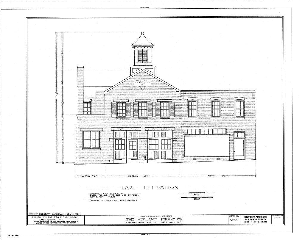 Vigilant Firehouse, 1066 Wisconsin Avenue Northwest, Washington, District of Columbia, DC