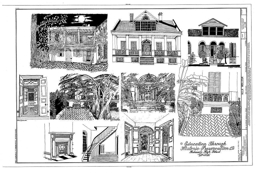 Villa Meilleur, 1418 Governor Nicholls Street, New Orleans, Orleans Parish, LA
