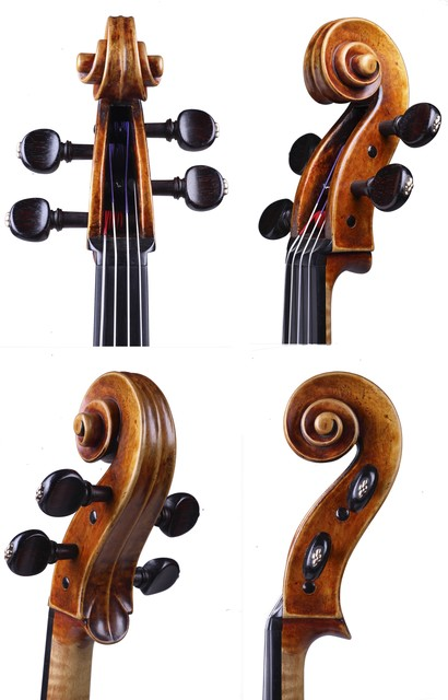 "Viola by Antonio Stradivari, Cremona, 1727, ""Cassavetti"""