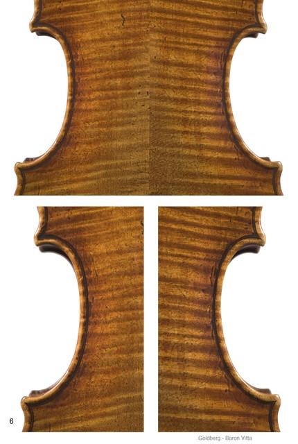 "Violin by Giuseppe Guaneri, Cremona, ca. 1730, ""Goldberg-Baron Vitta"""