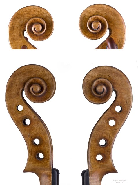 "Violin by Nicolo Amati, Cremona, 1654, ""Brookings"""