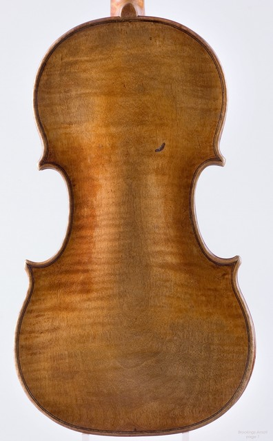 "Violin by Nicolo Amati, Cremona, 1654, ""Brookings"""