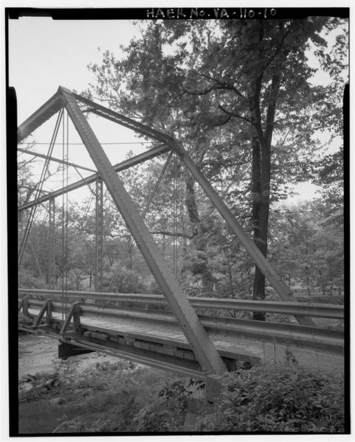 Virginia Department of Transportation Bridge No. 6051, Spanning Catoctin Creek at State Route 673 (Featherbottom Road), Waterford, Loudoun County, VA