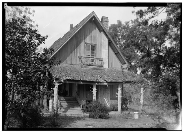 Virginia Glover House, County Roads 19 & 4, Forkland, Greene County, AL