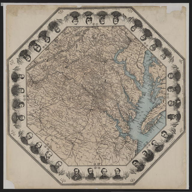 Virginia, [Partial map of Virginia.]