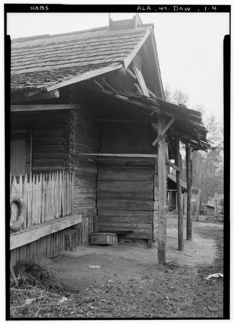 Vogtner Farm (House & Smokehouse), Jeff Hamilton Road vicinity, Dawes, Mobile County, AL