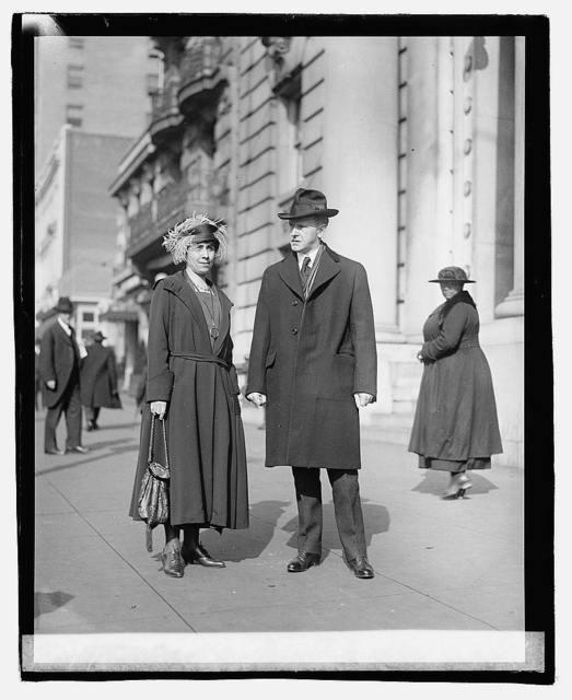 V.P. & Mrs. Coolidge, 3/1/21