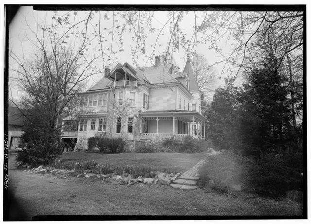 W. W. Biggs House, Little Falls & Great Falls Streets, Falls Church, Falls Church, VA