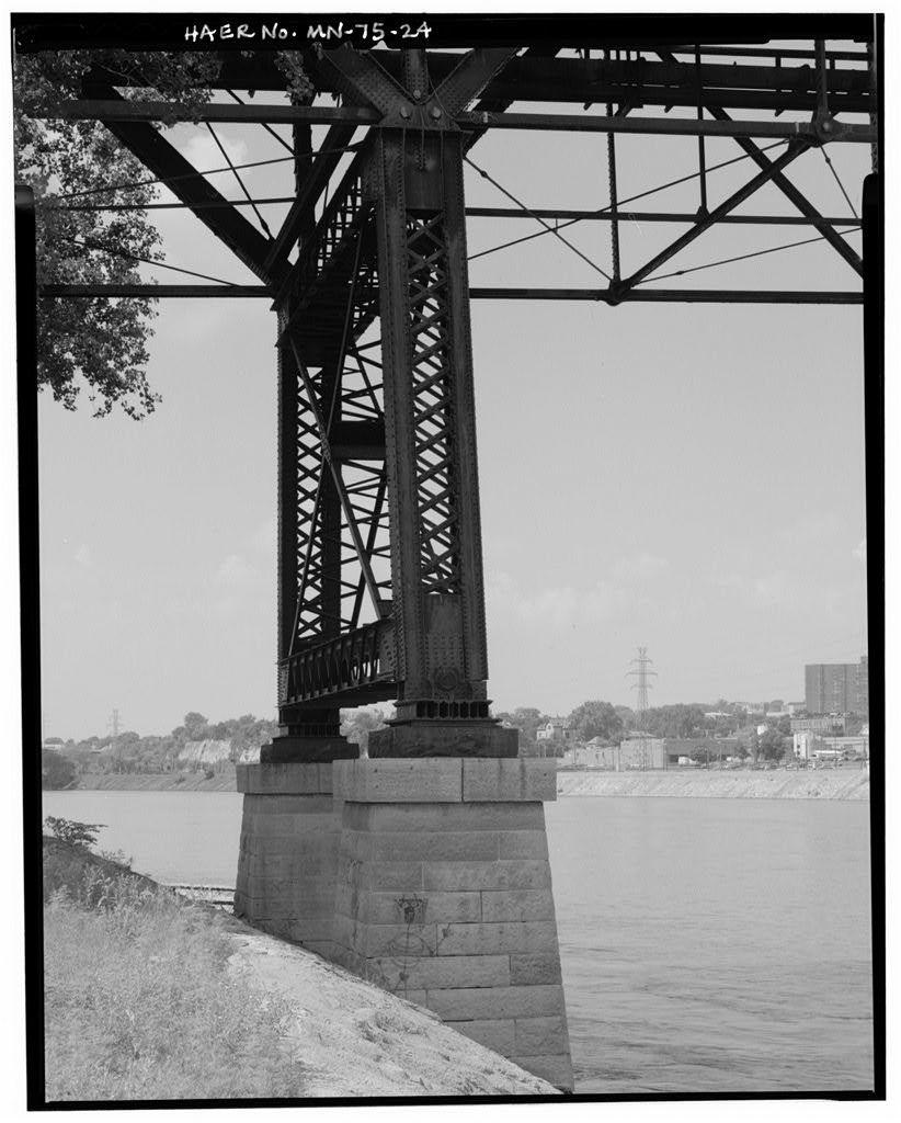 Wabasha Street Bridge, Spanning Mississippi River at Wabasha Street, Saint Paul, Ramsey County, MN