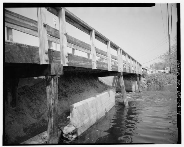 Wagamon Pond Dam & Bridge, Spanning Broadkill River at State Road No. 197 (Mulberry Street), Milton, Sussex County, DE