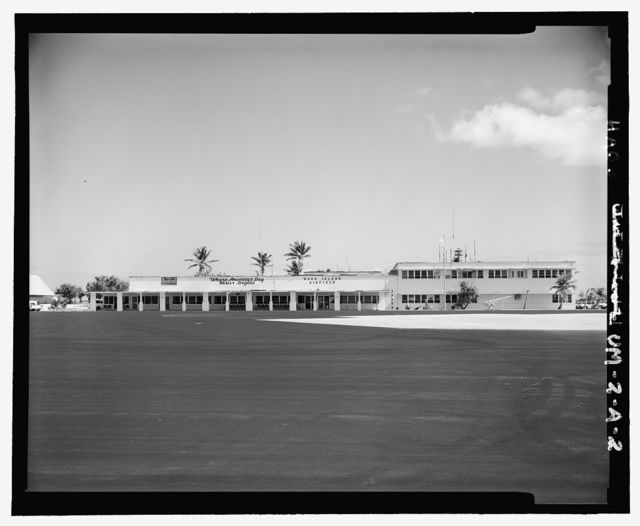 Wake Island Airfield, Terminal Building, West Side of Wake Avenue, Wake Island, Wake Island, UM