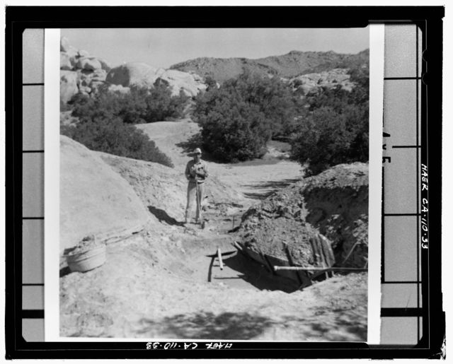 Wall Street Gold Mill, Twentynine Palms, San Bernardino County, CA