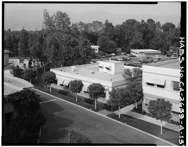 Walt Disney Studios, Process Laboratory, Corner of Buena Vista Street & Alameda Avenue, Burbank, Los Angeles County, CA