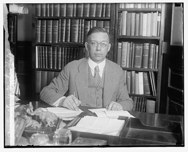Walter H. Newton, 3/16/29