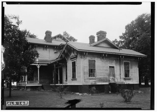 Walton-Bruce House, State Highway 25, Dayton, Marengo County, AL