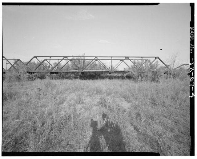 Ward Brazos River Bridge, Spanning Salt Fork of Brazos River at County Route 109, Aspermont, Stonewall County, TX