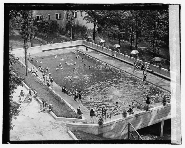 Wardman Pks. swimming pool, 7/15/22