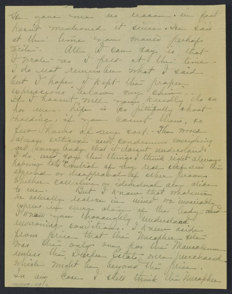 Warren G. Harding-Carrie Fulton Phillips Correspondence: Correspondence and drafts of correspondence; 1922-circa 1924