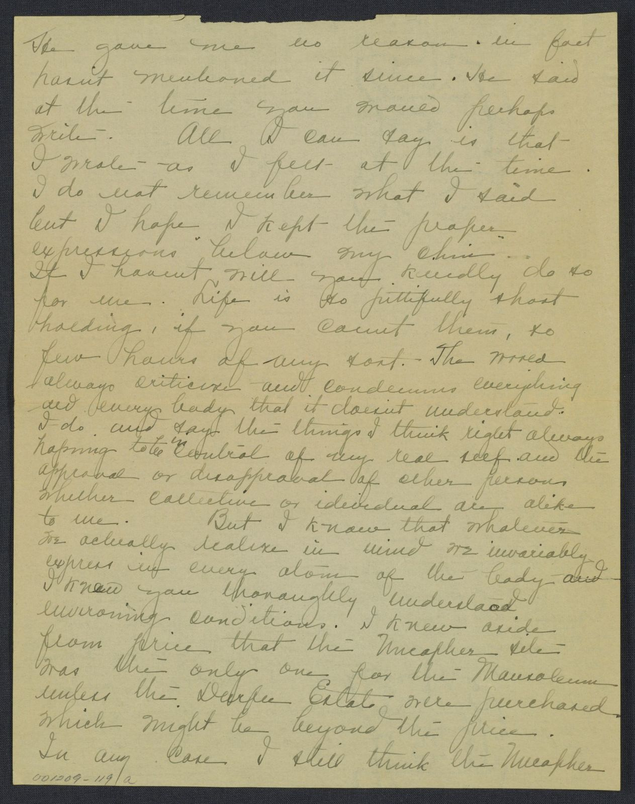Warren G. Harding-Carrie Fulton Phillips Correspondence: Correspondence and drafts of correspondence; 1922-circa 1924
