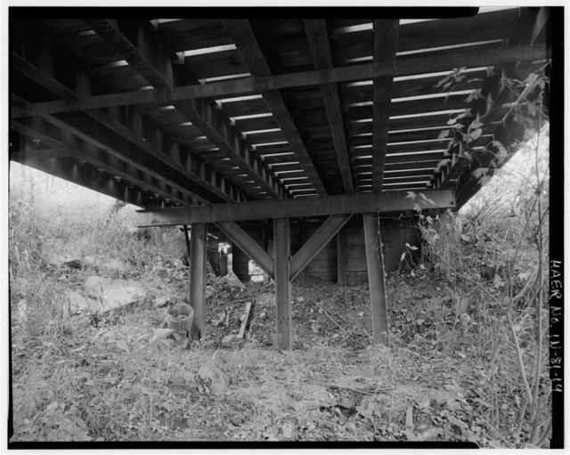 Warrick County Bridge No. 266, Spanning Cypress Creek at County Road 550 West (Vanada Road), Newburgh, Warrick County, IN