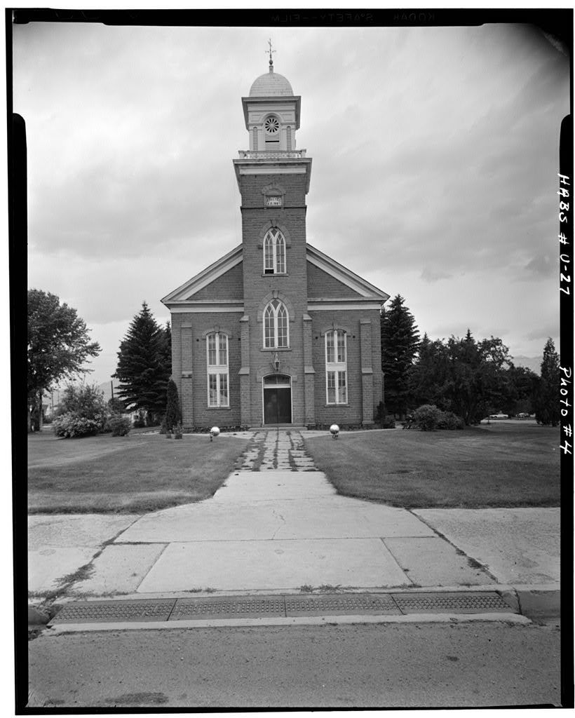 Wasatch Stake Tabernacle, Main Street at 100 North Street, Heber City, Wasatch County, UT