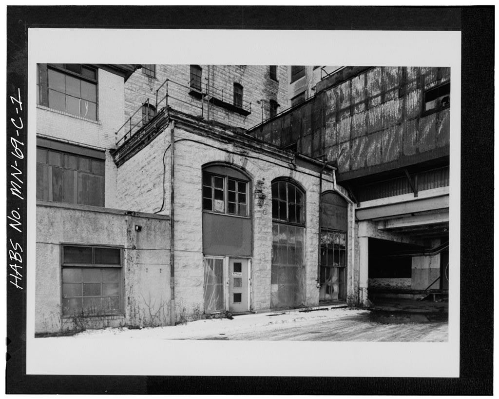 Washburn-Crosby Milling Complex, West Engine House, 701-709 South First Street, Minneapolis, Hennepin County, MN
