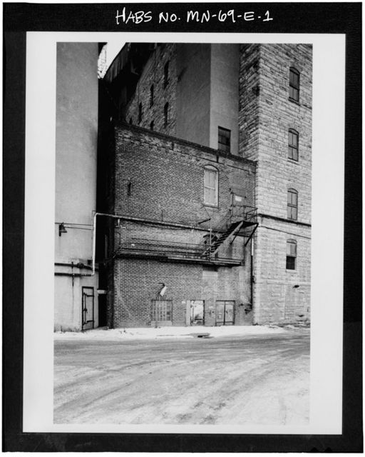 Washburn-Crosby Milling Complex, Wheel House, 711-719 South First Street, Minneapolis, Hennepin County, MN