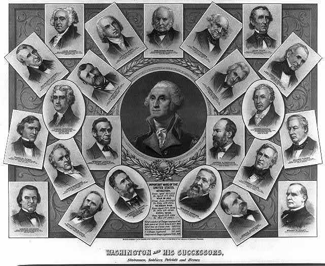 Washington and his successors, statesmen, soldiers, patriots, and heroes