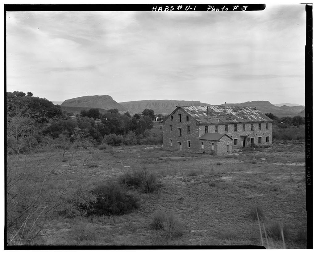 Washington Cotton Mill, on Mill Creek near State Highway 212, Washington, Washington County, UT