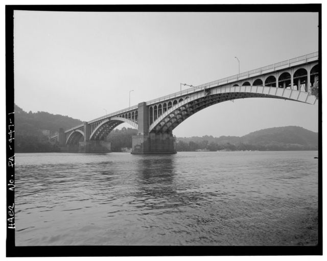 Washington Crossing Bridge, Spanning Allegheny River at Fortieth Street (State Route 2124), Pittsburgh, Allegheny County, PA