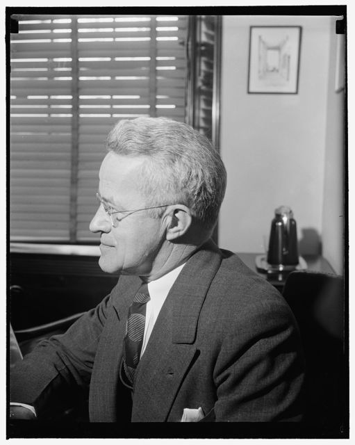 Washington, D.C., A new informal photograph of Rep. J. William Ditter, Republican, of Pennsylvania