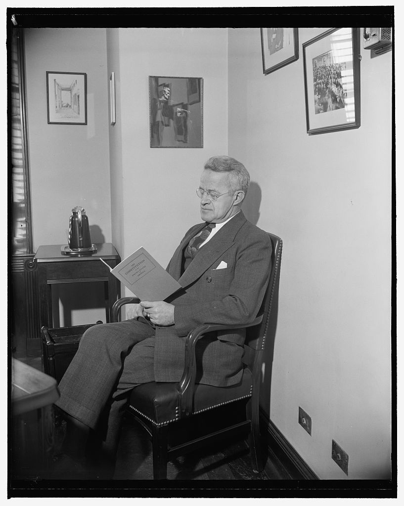 Washington, D.C., Dec. 9. A new and especially posed [...] of Rep. J. William Ditter, Republican, Pennsylvania