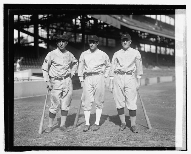 Washingtons double play trio Peck to Harris to Judge, 10/1/24