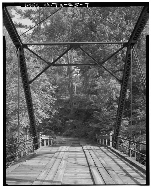 Waters Bluff Bridge, Spanning Sabine River at County Route 353, Winona, Smith County, TX