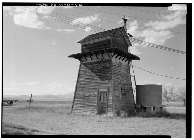 Watertower, North side of U.S. Route 26, Guernsey, Platte County, WY