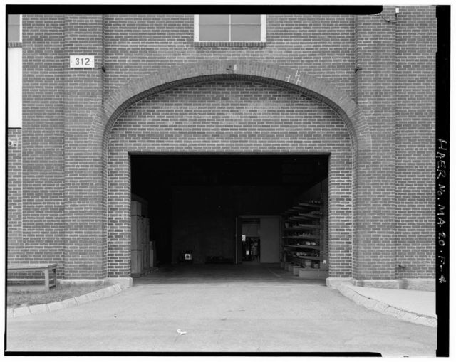 Watertown Arsenal, Building No. 312, Wooley Avenue, Watertown, Middlesex County, MA