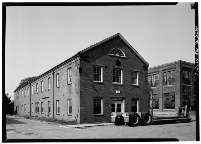 Watertown Arsenal, Building No. 71, Watertown, Middlesex County, MA