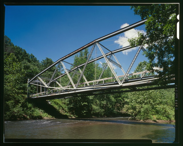 Waterville Bridge, Spanning Swatara Creek at Appalachian Trail (moved from Little Pine Creek at State Route 44, Waterville, Lycoming County), Green Point, Lebanon County, PA