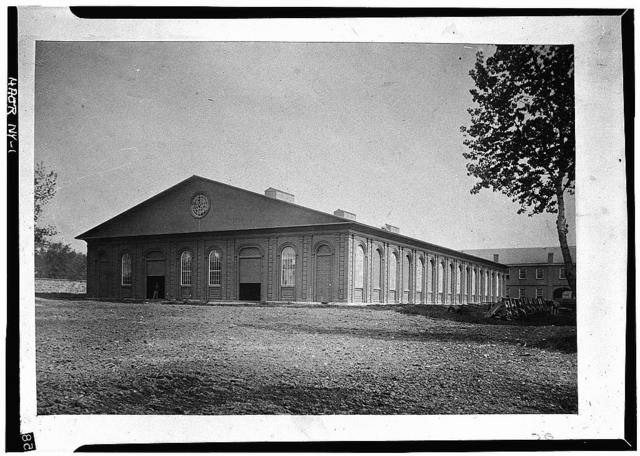 Watervliet Arsenal, Cast-Iron Storehouse, Westervelt Avenue & Gibson Street, Watervliet, Albany County, NY