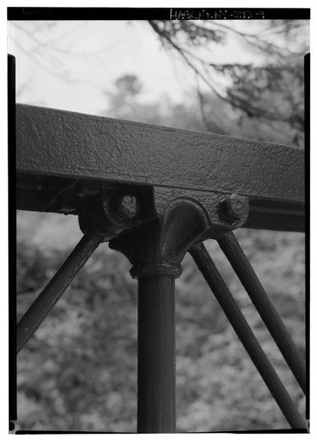 Watkins Glen Iron Foot Bridge, Watkins Glen State Park, near South Pavilion, Watkins Glen, Schuyler County, NY