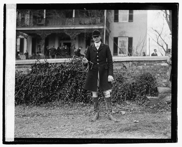 Waugh, Glascock, Master of Hounds, 1/3/21