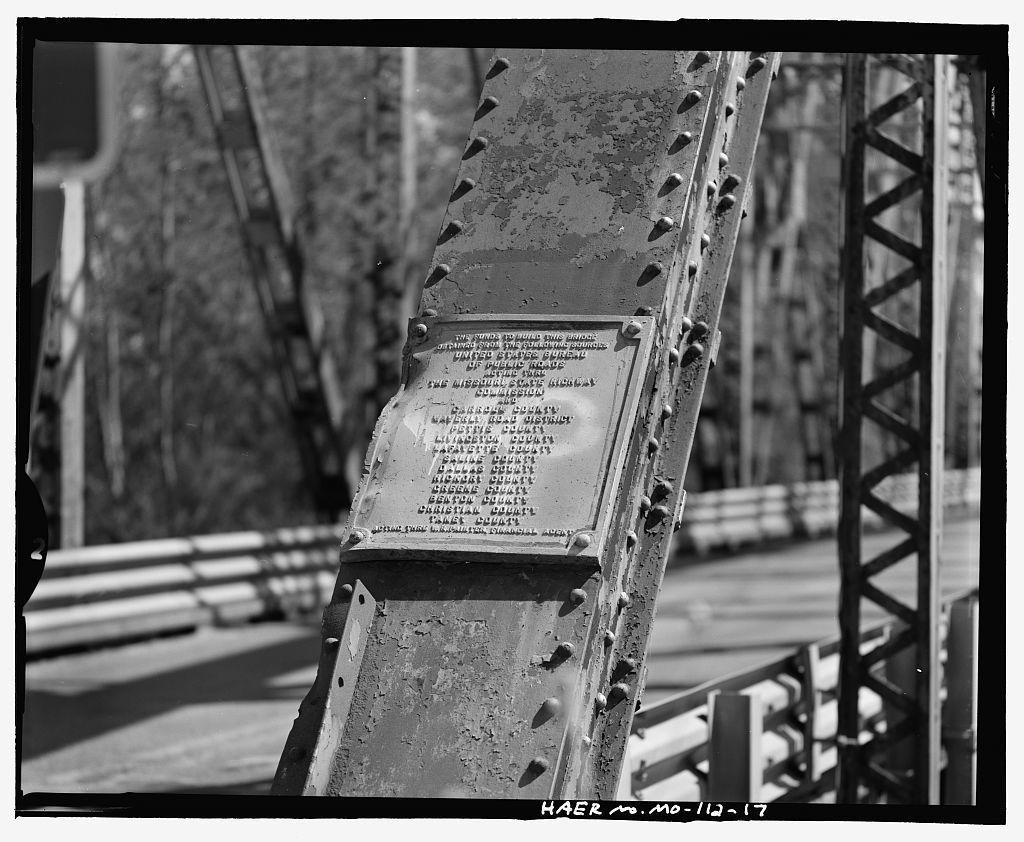 Waverly Bridge, Spanning Missouri River at State Route 65, Waverly, Lafayette County, MO