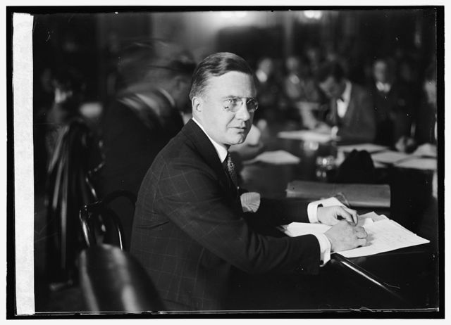 Waymouth Kirkland of Chgo., Counsel for Rep. Natl. Com., before Borah Committee, 10/28/24