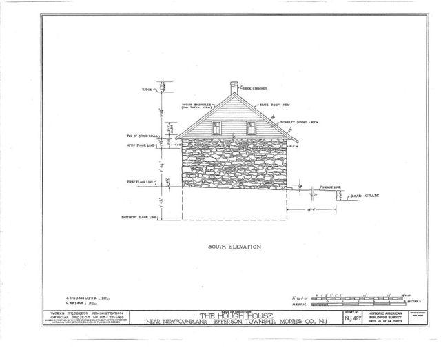 Weaver-Hough House, Newfoundland, Passaic County, NJ